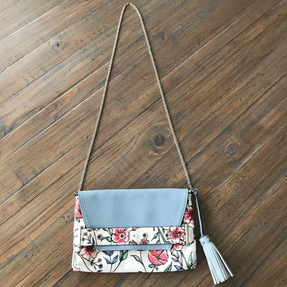e3fe63336 Sam & Libby floral crossbody purse. M_5ab6884acaab442507fc6956